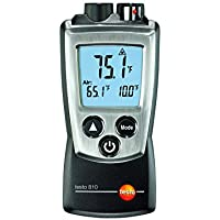 Testo - Medidor de temperatura de aire e infrarrojos