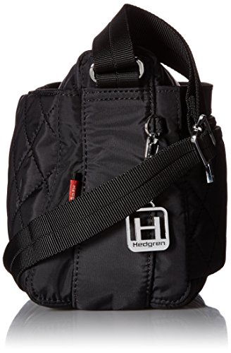 Hedgren , Borsa Messenger  Adulti, Black (Nero) - HDIT08 Black