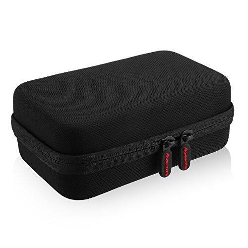 Powerextra Nintendo 3DS Bolsa de Almacenamiento, Caso de viaje duro de viaje para Nintendo 3DS nuevo, nuevo 3DS XL consola y juego, también para Anker Banco de Energía