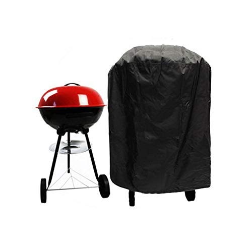 FeiyanfyQ étanche Anti-poussière Portable Barbecue Chariot Coque Jardin Accessoires de Barbecue - Noir