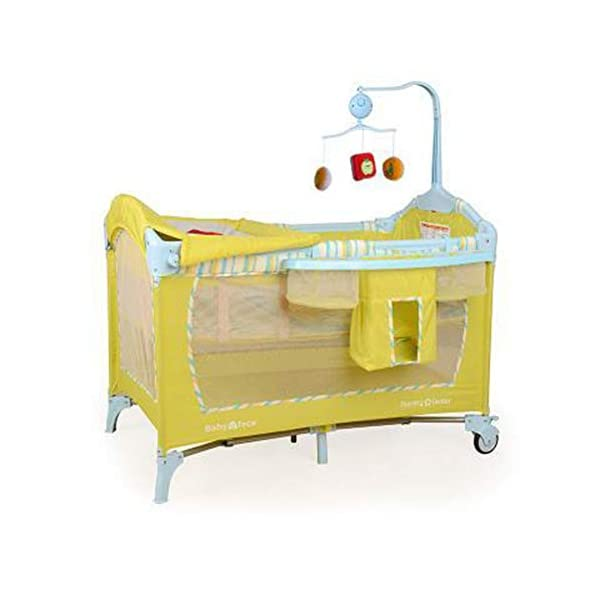 HEEGNPD Cradle European Portable Folding New Crib Multi-function Play Bed for Kids New Travel Cot Baby Novelty Cradle HEEGNPD 1. Use environmentally friendly materials, non-toxic and lacquer-free baby to breathe 2. Multiple modes: crib, play bed, shaker mode, travel bed 3. Applicable age: 0-6 years old 1