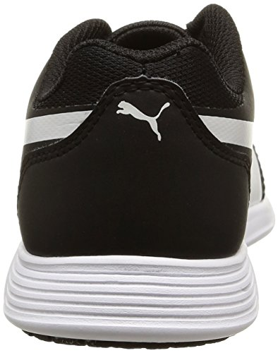 Puma Unisex-Kinder St Trainer Evo Low-Top Schwarz (black-white 01)