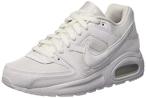 Nike air max command flex, scarpe da ginnastica basse unisex – bambini, bianco, 38 eu