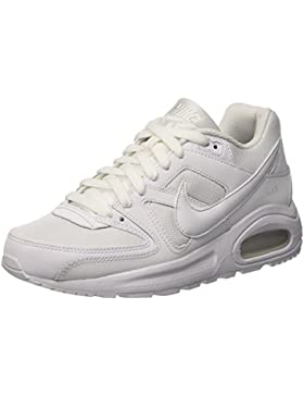 Nike Air Max Command Flex, Zapatillas Unisex Niños, Blanco (White / White /  White), 35.5 EU