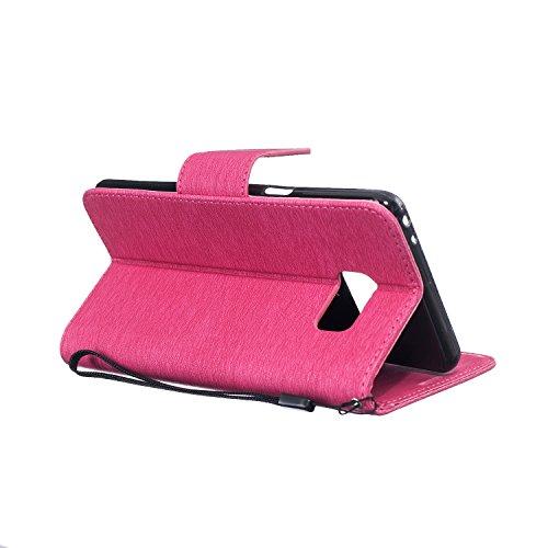 MOONBAY MALL Premium Housse en PU Cuir Portefeuille Etui Housse Flip Case pour Apple iPhone 5SE / iPhone SE / iPhone 5e avec fonction de support - Stylet & film de protection d'écran. BT-28 BT-12