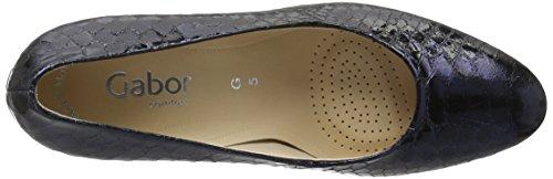 Gabor Shoes Comfort, Scarpe con Tacco Donna Blu (ocean 96)