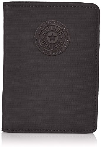Kipling PASS PORT Cartera para pasaporte, 14 cm, 0.01 liters, Negro (True Black)