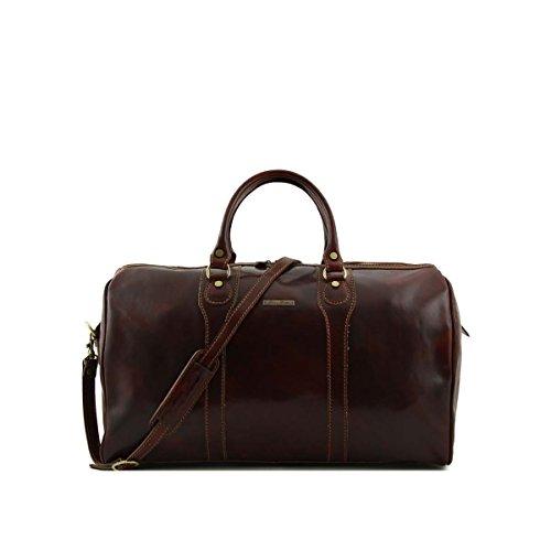 Tuscany Leather - Oslo - Borsa da viaggio in pelle Rosso - TL1044/4 Marrone