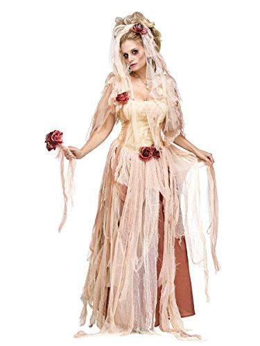 Halloween Damenkostüm Zombie Braut - Gr. S