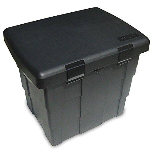 Preisvergleich Produktbild 108l abschließb. Streugutbehälter Streukiste f. Ölbindemittel Salz Sand Katzenstreu etc. Staubox Lagerbox