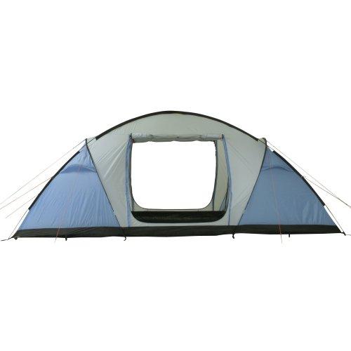 10T Weston 6 - 6 Personen Vis-A-Vis Geodät-Zelt 2 Schlafkabinen 3 Eingänge WS=5000mm -