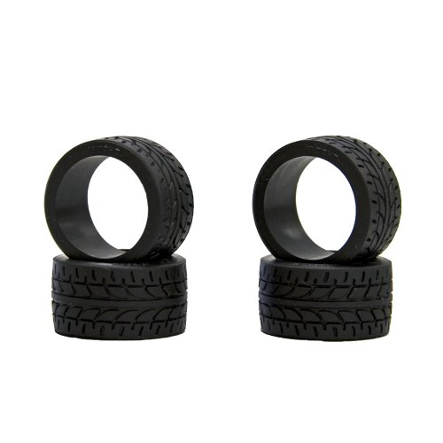 Kyosho 11mm wide racing radial tire (4) (10 shore) by kyosho