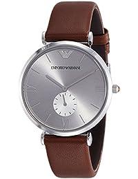 Emporio Armani Analog Silver Dial Unisex Watch - AR1675I