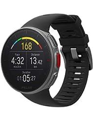 Polar Vantage V, Unisex Profi-Multisportuhr mit GPS, optischer Pulsmessung und extrem langer Akkulaufzeit, Multisport und Triathlontraining, Herzfrequenz-Messgerät, wasserdicht