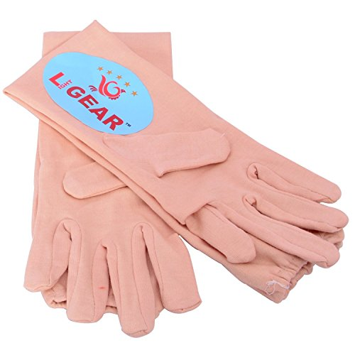 Light Gear Cotton Gloves 1 Pair To Protect From Sun Or Cold  available at amazon for Rs.239
