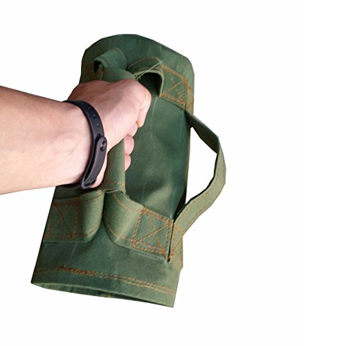 ChengYi-Heavy-Duty-Workout-Sandbags-for-FitnessFunctional-Fitness-Cross-training-Exercise-Crossfit-with-Adjustable-Weights-CYTN01-Army-Green