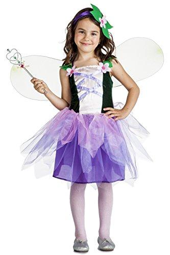Imagen de disfraz de hada flores para niña