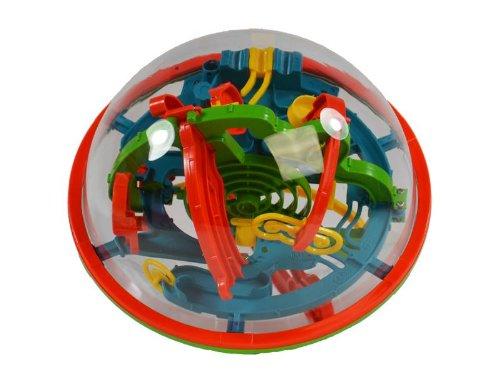 3D Space Labyrinth Ball - 19 cm Kugellabyrinth Kugelpuzzle Ball-Labyrinth