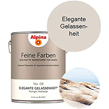 Alfred Clouth Alpina Feine Farben 5 L Elegante Gelassenheit No 08