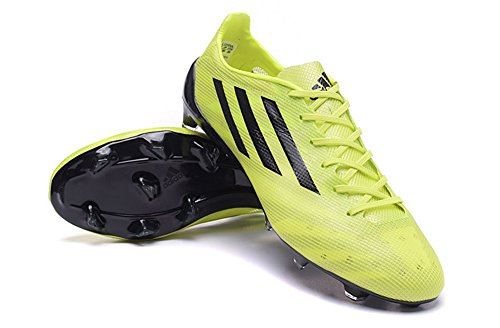 Andrew chaussures générique pour homme Adizero FG Football Jaune Bottes de Football