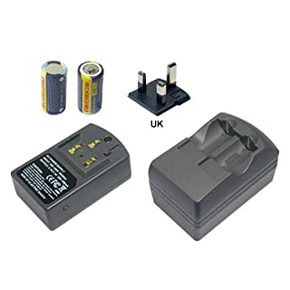 PowerSmart [Voltage: 100V-240V (Input), 3.85V/7.3V, 350mA (Output)] Battery Charger/Adatper Suitable for UK Canon AutoBoy Mini T (Tele), AutoBoy Mini J, AutoBoy S (Super) AutoBoy S XL, AutoBoy SII XL, EOS 30 EOS 3000N, EOS 30V, EOS 30V Date