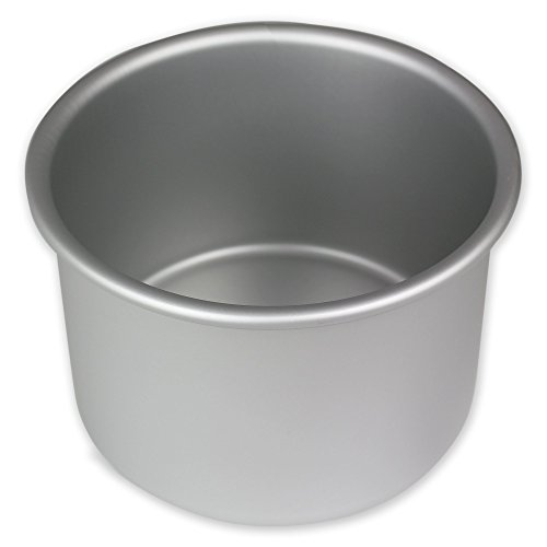 PME Anodised Aluminium Round Cake Pan 4 x 3-Inch Deep