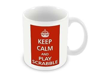 Mug - Keep Calm and Play Scrabble