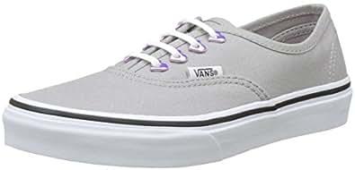 Vans Mädchen UY Authentic Sneakers, Grau (Eyelet), 32 EU