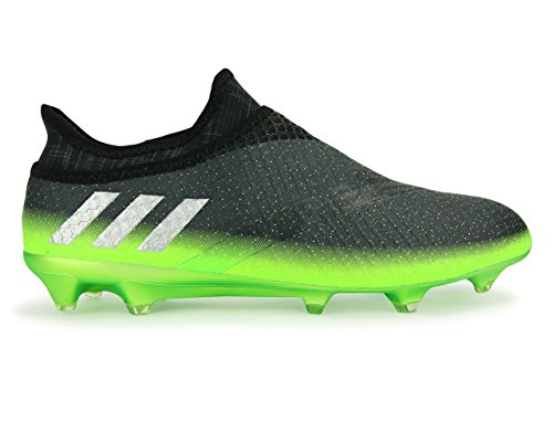 hot sale online 88d71 85e84 adidas Messi 16+ PUREAGILITY Herren Fussballschuhe FG Techfit Socke Space  Dust Grün Grau S76489 Neu