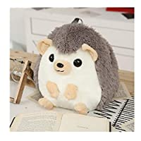 song710 Plush Toy Kawaii Hedgehog Backpack Cute Soft School Cartoon Lovely Animal Bag Gifts For Kids Children Boys Girls Students 30cm