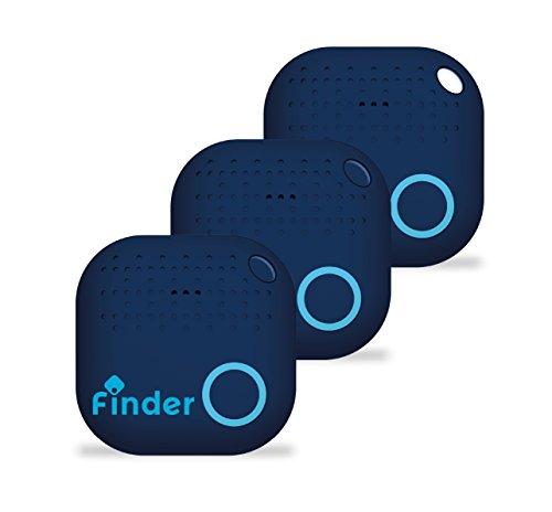musegear® App Schlüsselfinder- NEUE VERSION 2- 3x lauter- blau - 3er Pack - Schlüssel, Keys, Handy, Fernbedienung wieder-finden - Smartphone Bluetooth GPS Kopplung
