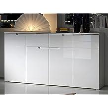 Suchergebnis Auf Amazon De Fur Sideboard Weiss Breite 180 Cm Weiss