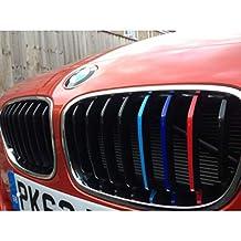 Autodomy Pegatinas BMW Pack 27 Rayas para la Parrilla Delantera del Coche