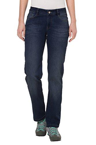 VAUDE womens rubicon pantalon de sport pour femme Bleu - Dark Rinse