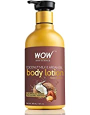 WOW Coconut Milk and Argan Oil Body Lotion, Medium Hydration, 300ml