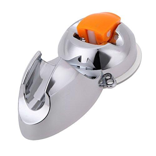 broadroot Praktische verstellbar Sucker Dusche Kopf Halterung Ständer Halterung für Badezimmer