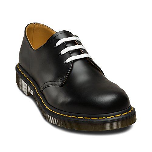 Dr Martens 140cm Stiefel Schnürsenkel Schwarz, Weiß - weiß - Größe: Einheitsgröße