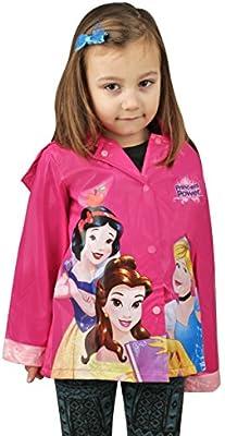 Disney Princess niña Rosa chubasquero