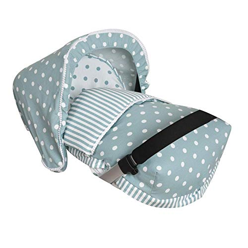 Imagen para Babyline Carrusel - Saco porta bebé, unisex, color verde