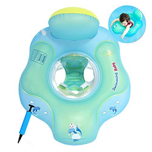 COSORO Baby Schwimmring Baby Float Schwimmreifen Mit Baby Schwimmsitz,Aufblasbare Schwimmhilfe Für Babyschwimmen Pool Beach,Perfekt für (5-18 Monate Kinder (S))