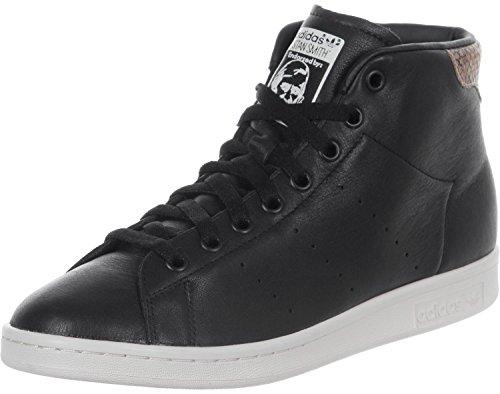 Adidas scarpe uomo stan smith mid s77452 cblack/cblack/cwhite (42)