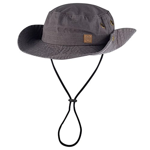Urban Beach Herren 's Bush walk Hat, grau, one size grau