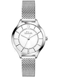 s.Oliver Damen-Armbanduhr SO-3219-MQ