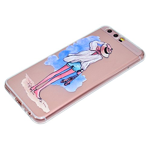 Qiaogle Telefon Case - Weiche TPU Case Silikon Schutzhülle Cover für Apple iPhone 7 (4.7 Zoll) - QI14 QI13