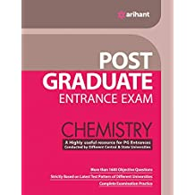 Post Graduate Entrance Examinations Chemistry