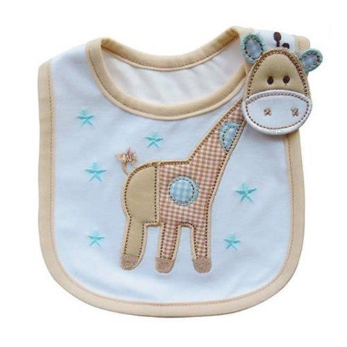 Preisvergleich Produktbild Lovely Cute Cartoon Muster Toddler Baby wasserdicht Speichel Handtuch Baby Lätzchen (Giraffe Muster)