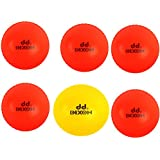Dixon Cricket Wind Ball, Pack of 6 (Multicolor)