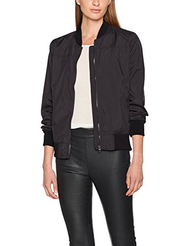 Brandit Damen Bomber Jacke Jula Girls Blousonjacket per pack, Schwarz (Schwarz (Black 2) 2),Medium