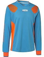 Derby Star Niños Aponi Pro Camiseta de portero, infantil, color petrol orange, tamaño 128