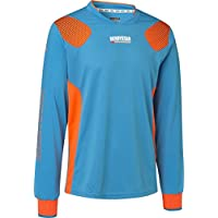 Derby Star Niños Aponi Pro Camiseta de Portero, Infantil, Color Petrol Orange, tamaño 164